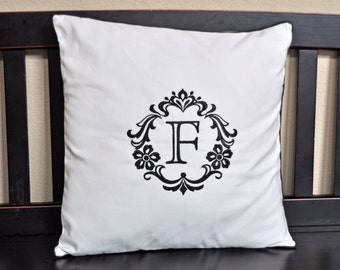Monogrammed Pillow PC002