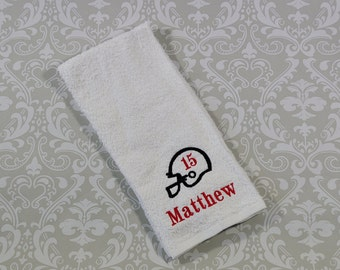 Personalized Football Sport Towel ST007