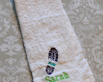 Personalized Runner Sport Towel ST0026