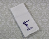 Personalized Gymnast Handstand Towel #1 ST009 // Gymnastics Gift // Gymnastics // Coach Gift // Mom Gift // Team Gift