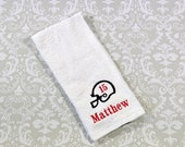 Personalized Football Player Towel ST007 //Football Coach Gift // Football Gift // Team Gift // Player // Mom Gift