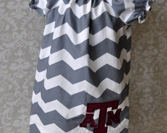 Texas A&M Baby or Toddler Dress sizes Newborn to 5 AG001