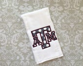 Texas A&M Burp Cloth ABC01