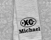 Personalized Cross Country Towel ST0092 // track and field gift // track and field coach gift // Cross Country coach gift //