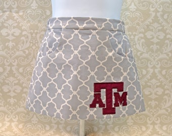 Texas A&M Toddler or Girls Skirt AGSKIRT17