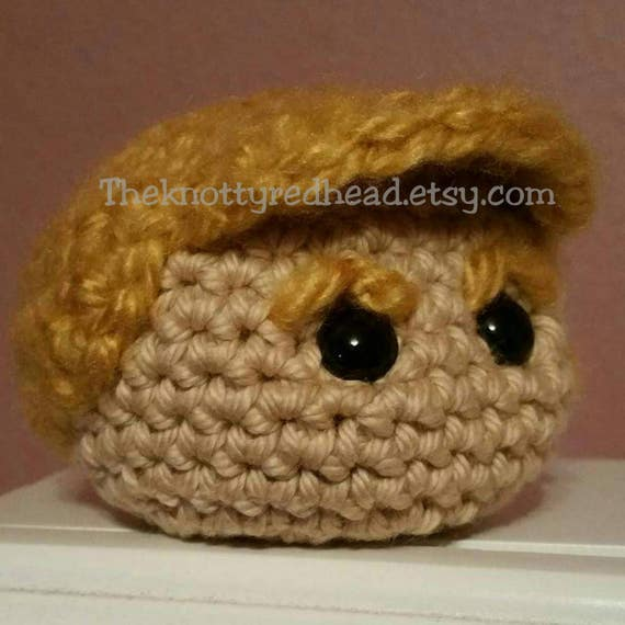 Donald Trump Crochet Hacky Sack Crochet Foot Bag Election Etsy