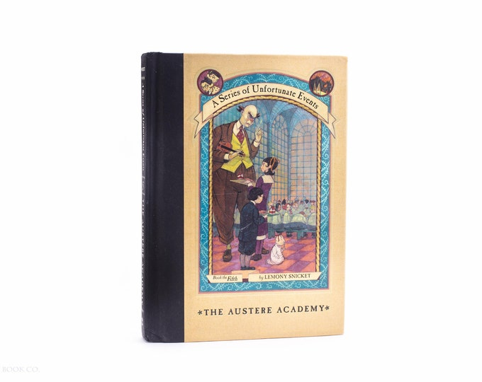Hollow Book Safe — A Series of Unfortunate Events: The Austere Academy  by Lemony Snicket