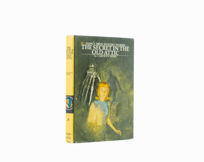 Hollow Book Safe - Nancy Drew: The Secret in the Old Attic - Vintage (1959)