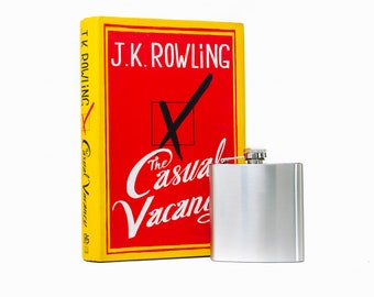 Hollow Book Safe & Hip Flask - The Casual Vacancy - J.K. Rowling