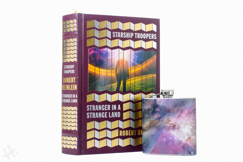 Hollow Book Safe & Galaxy Flask Starship Troopers and image 0