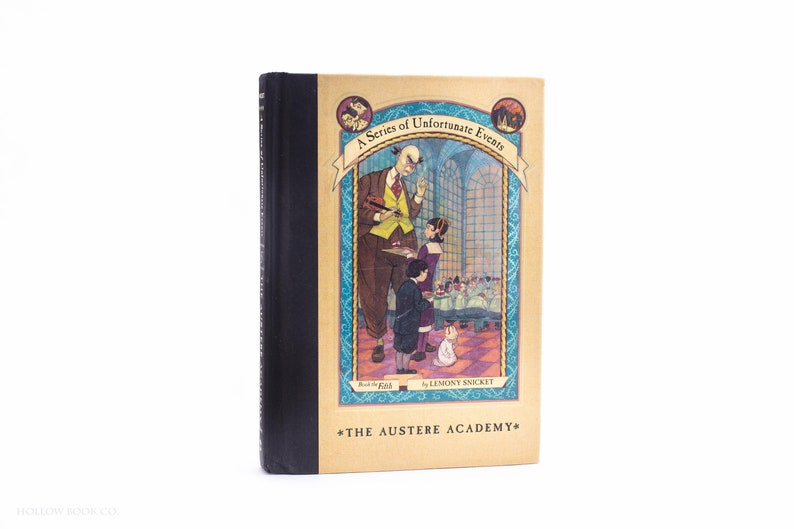 Hollow Book Safe  A Series of Unfortunate Events: The Austere image 0