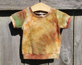 Made To Order Rings of Saturn Tee- Hand Dyed Hemp/Organic Cotton