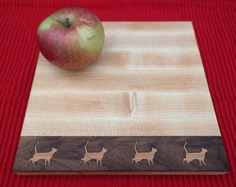 Planche à découper - Planche à fromage - Plateau de service- Planche animaux