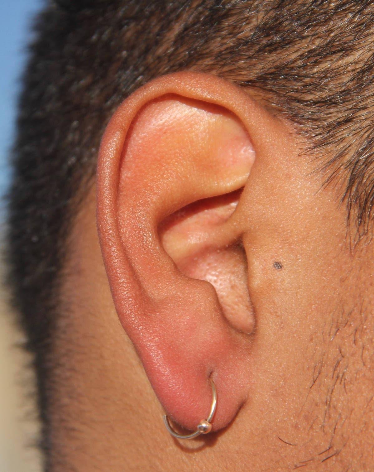 36c0ddf55254a4 Men Earrings-Men Gold Earrings Hoop Earrings-Gold Hoop | Etsy