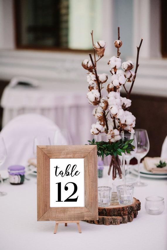 DIY Tisch Nummer Aufkleber Hochzeit Aufkleberbogen Hochzeit
