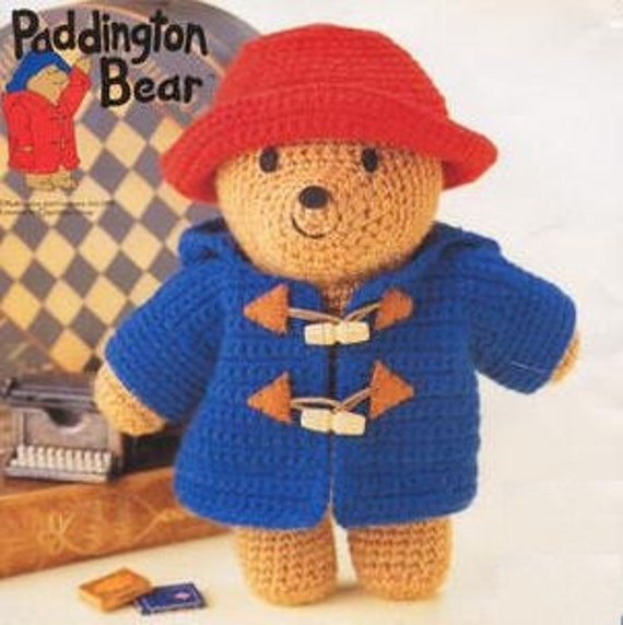 Items Similar To Amigurumi Pattern Crochet Paddington Bear Pdf