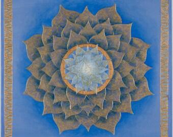 Peace Reigns Mandala-  archival print on photo paper