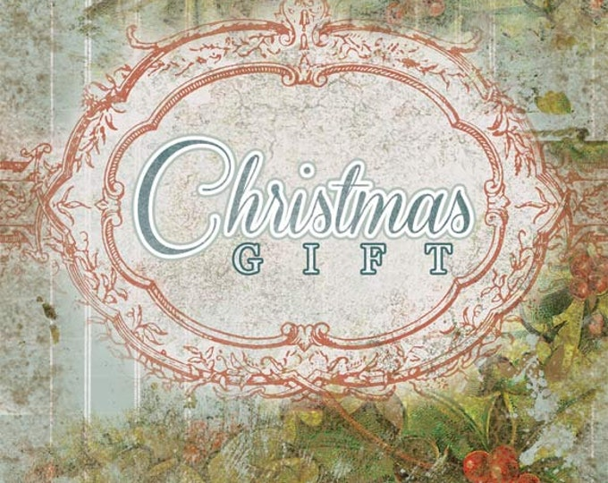 Writing Journals - Christmas Gift - 27 Journal Refill Pages - digital collage, ephemera kit, altered art kit, Clip Art Christmas