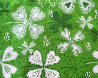 Irish 4 Leaf Clover Fabric