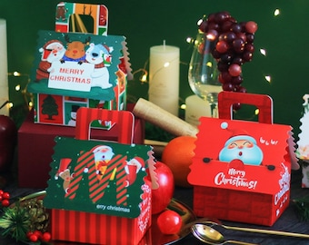 20 christmas gift boxes christmas goodies box christmas party favor boxes - Decorative Christmas Boxes