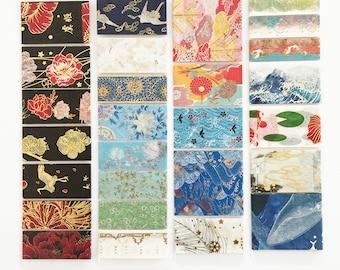 27 Chinese style masking tape sample, washi tape sample, oriental pattern, dragon, vintage chinese design, 50cm x 27 style
