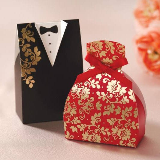 30 Wedding Favor Boxes Wedding Party Candy Box White 3d Favor Box