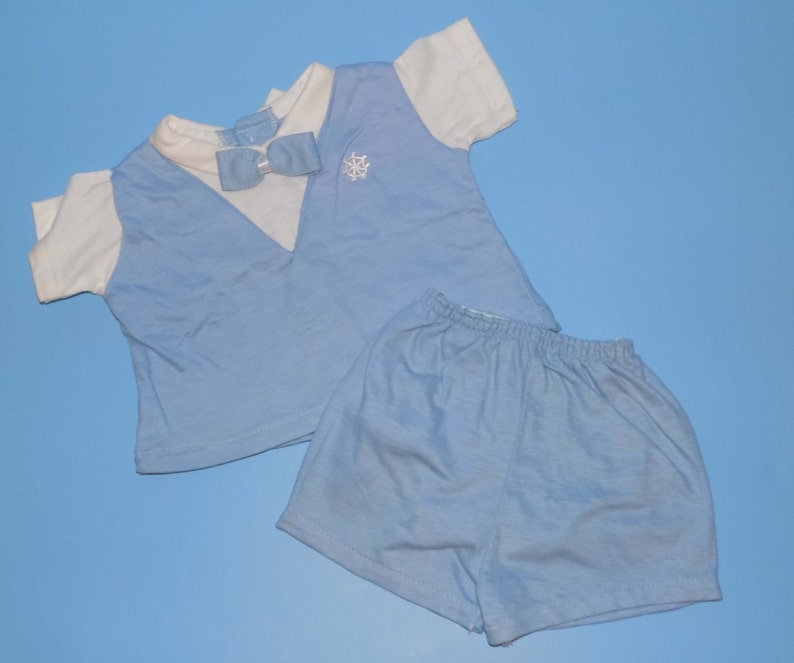 Vintage Early 1970s Baby Set Sz 69 mo