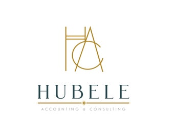 Custom Logo Design - Business Logo -  Initals Logo - Art Deco Logo -OOAK - Luxury Logo Business Custom Logo - Branding