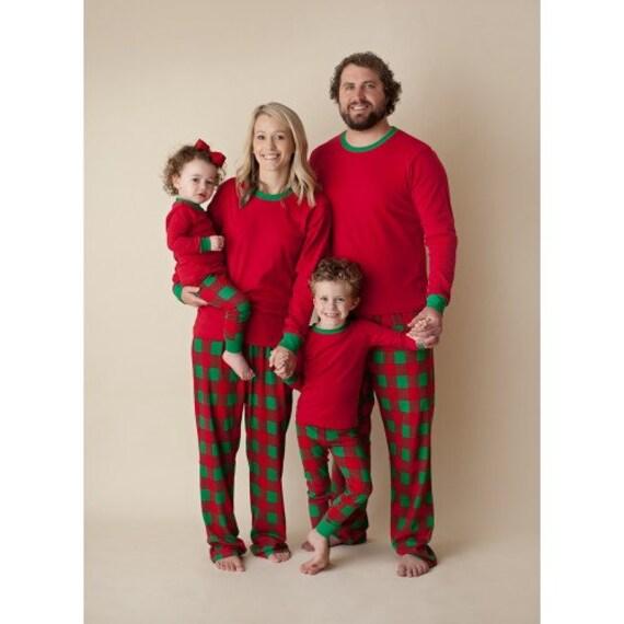 Christmas Pajamas-Christmas Eve Box-Family Pajamas-Holiday  fa95e05c7