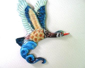 bird in flight refrigerator magnet