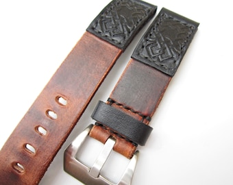 Fenix 3 and 5 Leather Watch Strap