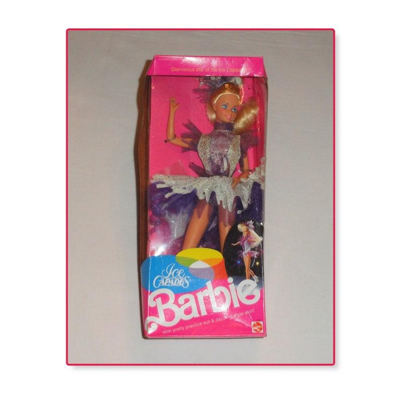b07c6e560ea 1990 Mattel ICE CAPADES BARBIE Doll Boxed
