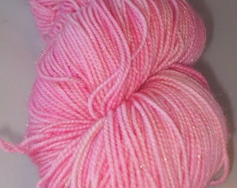 "Dewy Sock ""Touch of Pink"""