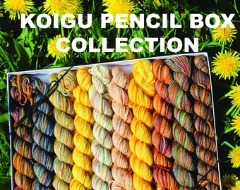 Knitting Pattern Book, Koigu Pencil Box Collection, Paperback Book, Pattern Book, Knit and Crochet Designs