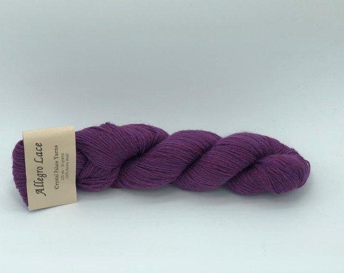 Allegro Lace. -  Crystal Palace Yarns  -  Merino Wool. - Color 3091 - dye lot 16