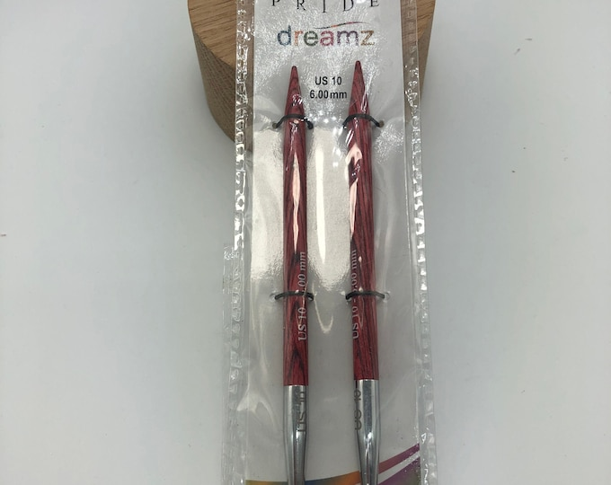 Knitter's Pride Dreamz Interchangeable Circular Needles,  US 10(6.0mm) Needle Cord NOT included