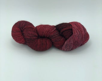 Malabrigo Rastita Yarn, Cereza 033, DK Yarn, Merino Wool Yarn