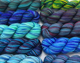 Koigu Kersti paint pack, 10 pack, Pisces, dk weight yarn