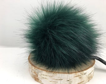 "Aheadhunter faux fur Pom Pom - Premium ""fox"" Pom Pom  - hat topper - knit crochet supplies"