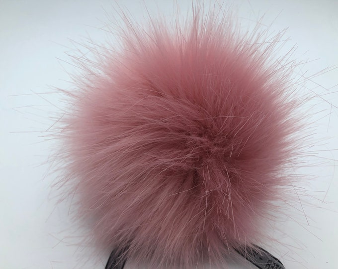 Aheadhunter faux fur Pom Pom - Premium Pom Pom  - hat topper - knit crochet supplies - Classic NR2