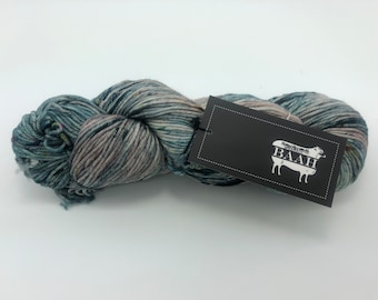Baah Yarn Shasta,  Worsted weight, 100% Superwash Merino Wool, Blue Magic