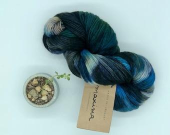 Manos del Uruguay Maxima, Arctic Shadow, 100% Merino Wool Yarn, Worsted
