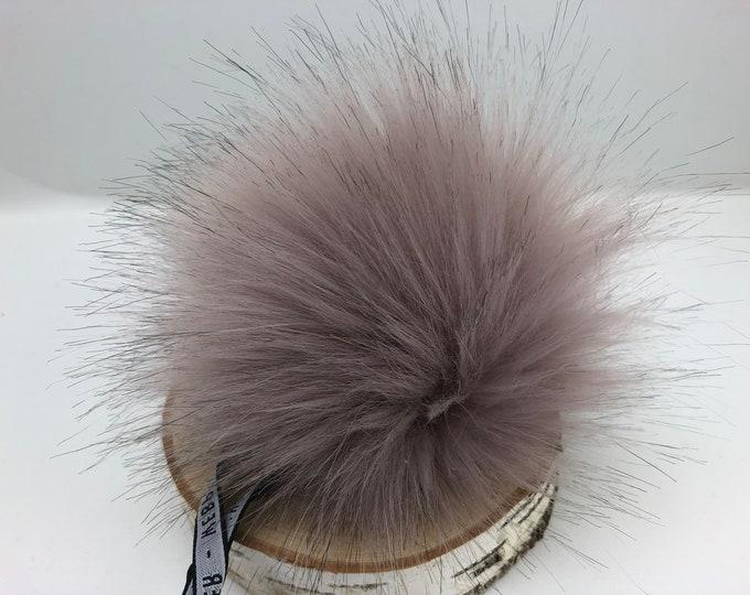 Aheadhunter faux fur Pom Pom - Premium  Pom Pom  - hat topper - knit crochet supplies