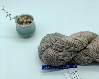 Malabrigo Rios Yarn + Hat Knitting Pattern, Worsted weight yarn, 100% Merino Wool, no dye lot