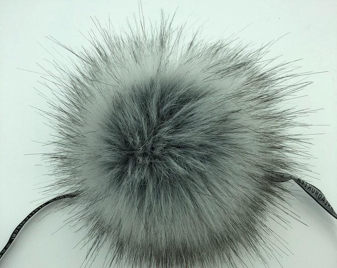 Aheadhunter faux fur Pom Pom - Premium Pom Pom  - hat topper - knit crochet supplies - Classic NR2