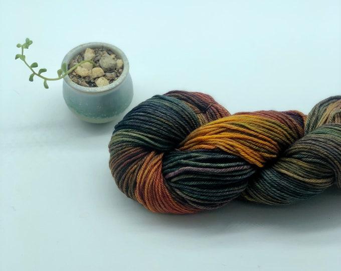 Malabrigo Rios Yarn + Hat Knitting Pattern, Worsted, 100% Merino Wool, multi color, single dye lot