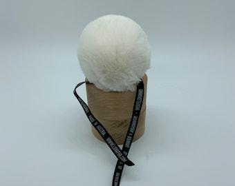 Aheadhunter faux fur Pom Pom, Kids Faux Fur Rex PomPons, hat topper, knit crochet supplies