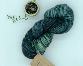 Franca Yarn by Manos del Uruguay, Nori, Super Bulky, 100% Superwash Merino Wool, Green