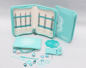 """Knitter's Pride, Believe Interchangeable Lace Needle Set from the Mindful Collection, 5"""""""