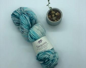 Baah Yarn Sequoia,  Super Bulky, 100%  Merino Wool, Blue Moon